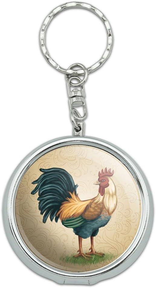 Tamaño bolsillo bolso de mano portátil de viaje cenicero Llavero pájaros búhos aves rapaces: Amazon.es: Hogar