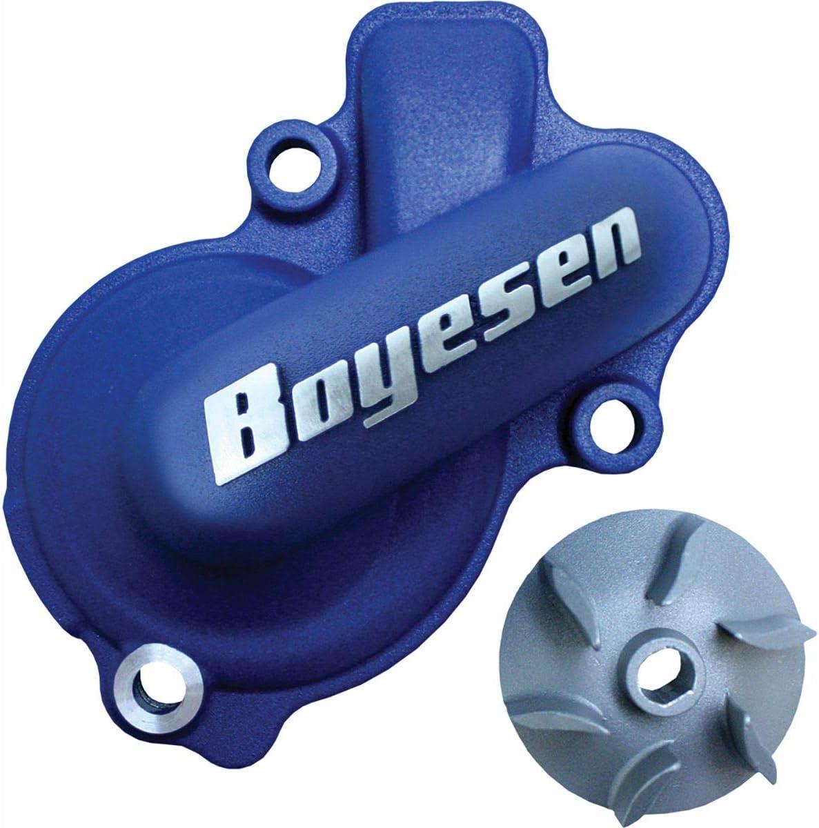 Boyesen WPK-31AL Blue Supercooler Water Pump Cover and Impeller Kit