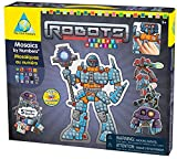mosaic sticker by number - The Orb Factory Limited Sticky Mosaics Robots