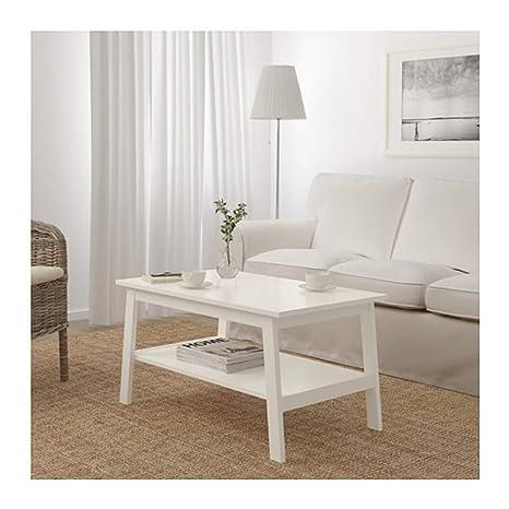Peachy Amazon Com Ikea Lunnarp Coffee Table White 103 514 41 Size Bralicious Painted Fabric Chair Ideas Braliciousco