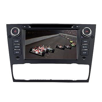 "KKmoon 7"" Autoradio 2 Din Reproductor DVD (GPS Navegador in Dash, Pantalla Táctil"