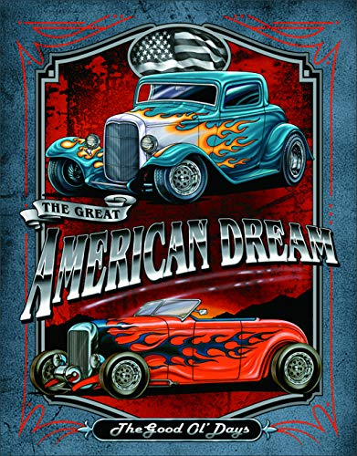 Desperate Enterprises Legends - American Dream Tin Sign, 12.5