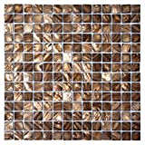 Dazzle Mosaic Mother of Pearl Mosaic Tiles for Bathroom Backsplashes 20mm Chips 10 Sq Ft Pack of 10