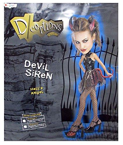 [Devil Siren - Adult Halloween Costume] (Siren Costume Halloween)