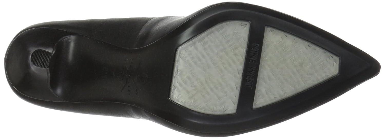 Nine West Women's FIFTH9X Fifth Pointy Toe Pumps B01N6C9YGS 9.5 B(M) US|Black Calf Leather
