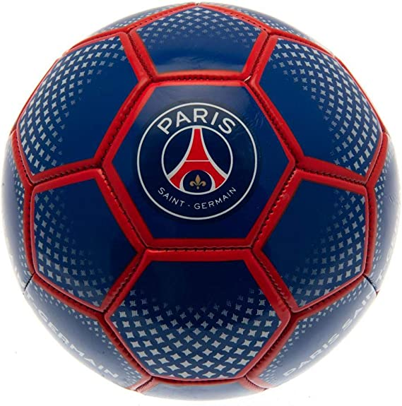 Paris Saint Germain FC - Balón de fútbol (Talla 5) (Azul): Amazon ...