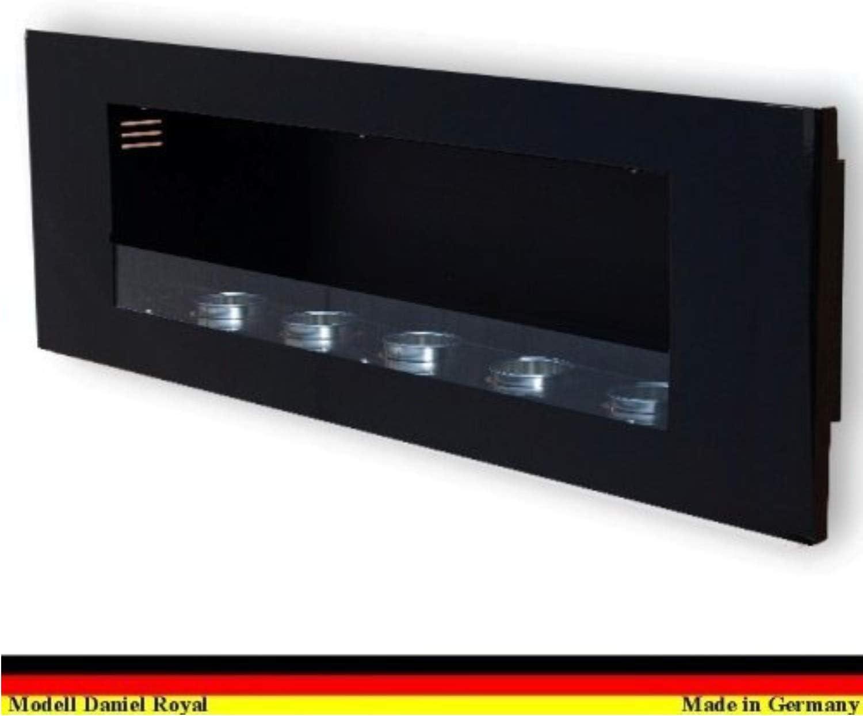 Negro selecci/ón de color Gel y Etanol Chimenea Modelo Daniel Royal