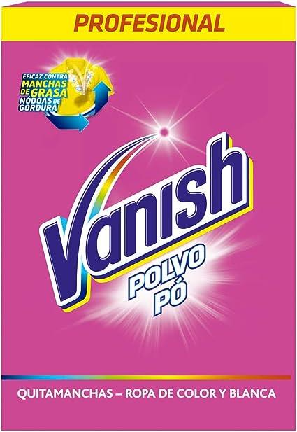 Vanish Quitamanchas Polvo para Ropa Blanca y de Color - 2,4 kg ...
