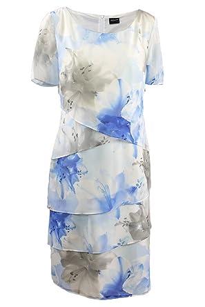 Kleid blau etui
