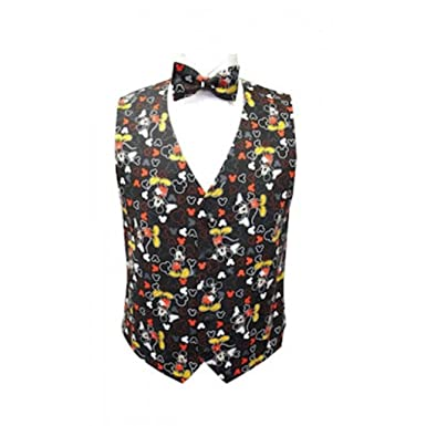 ffa94867cca8 Mickey Mouse Celebration Tuxedo Vest and Bow Tie at Amazon Men's ...
