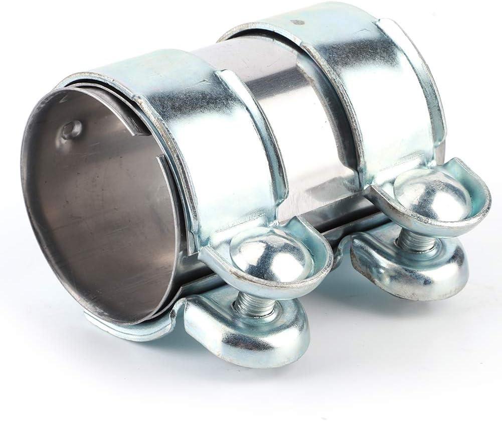 Conector de abrazadera de tubo de escape de 60 x 95 mm 12793501 Ajuste para A3 A4 A5 A6 A7 A8 Conector de abrazadera de tubo