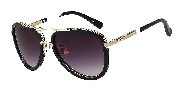 e2be35c870ca Amazon.com: Brand Designer Sunglasses Men Women Retro Vintage Sunglass  Fashion Summer Style Classic Glasses Top: Clothing
