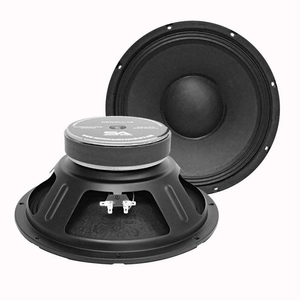 Seismic Audio Denali 12 (Pair) - 12-Inch 450 Watts RMS PA Speakers or Raw Woofers by Seismic Audio