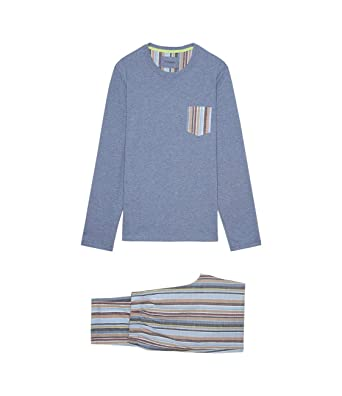 fc6847a00d09 Intimissimi Mens Long Cotton and Linen Pyjamas at Amazon Men's Clothing  store: