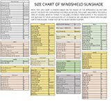 Windshield Sun Shade - 210T Fabric Highest in The