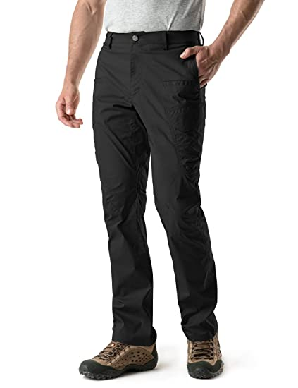 682fa28024 CQR Men's Outdoor Adventure Rugged Pants Hiking Camping Stretch Durable UPF  50+ Quick Dry Cargo