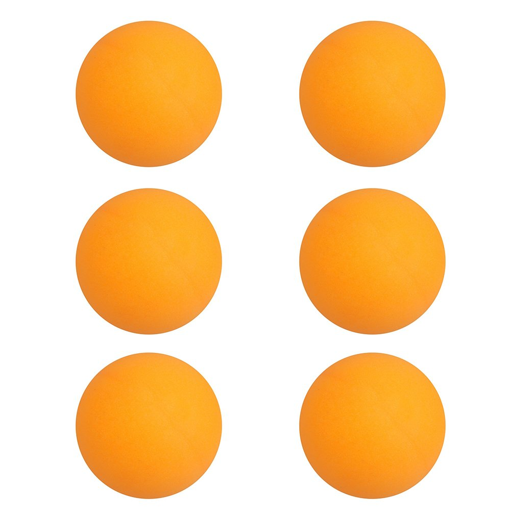Hosaire 6x Tischtennis Ball Hochwertiger Zelluloid Ping Pong-Bälle 40mm Trainingsbälle Table Tennis Tischtennisball