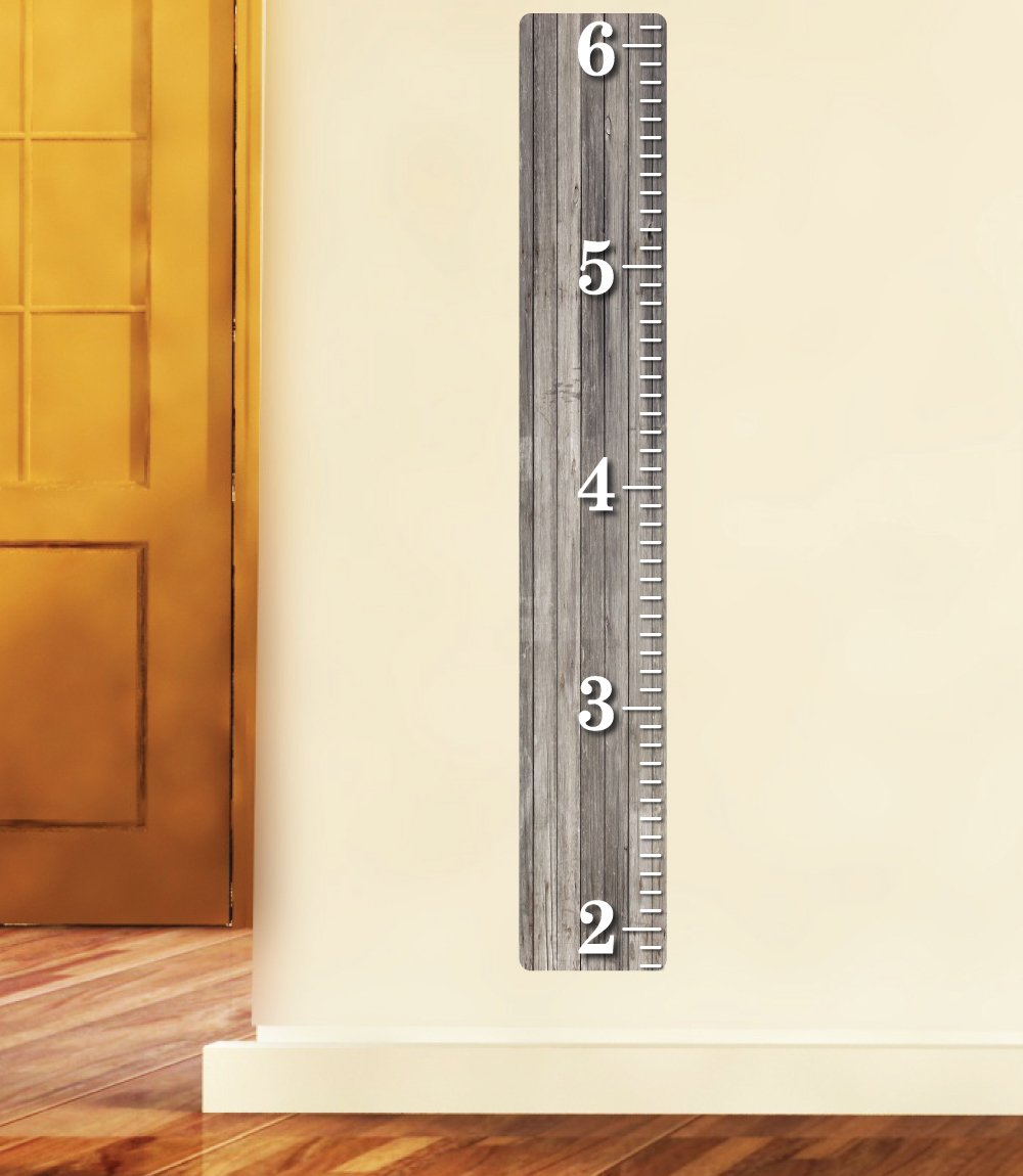 Amazon weathered wooden ruler growth chart wood ruler amazon weathered wooden ruler growth chart wood ruler height chart wall decal wall sticker baby nvjuhfo Gallery
