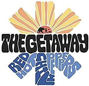 Set of 3 - The Getaway - RHCP - Sticker Graphic - Auto, Wall, Laptop, Cell, Truck Sticker for Windows, Cars, Trucks