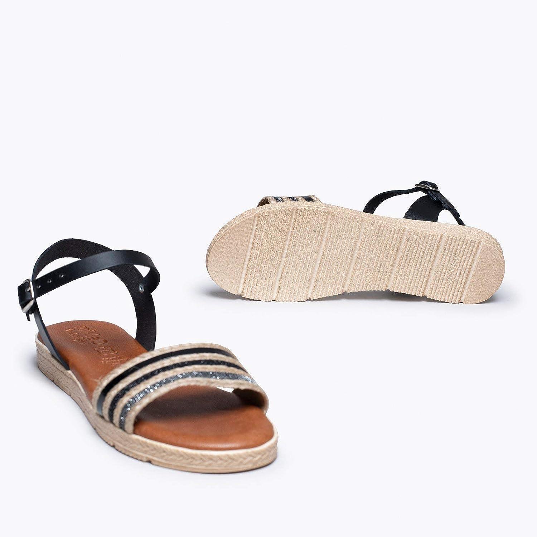 Zapatos miMaO. Zapatos de Piel de Mujer Hechos EN ESPAÑA. Sandalia ...