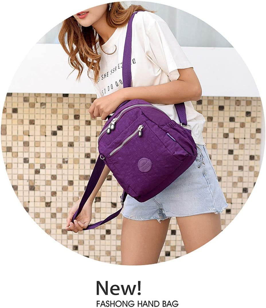 Travel 8haowenju The Girls Versatile Backpack is Perfect for Everyday Travel Fashion and Leisure School Black Outdoor Latest Models Work Sleek and Simple