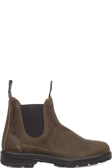 quality design aaa0d eb45f Blundstone Scarpe Uomo 1615 DAK Olive Suede AI18: Amazon.co ...