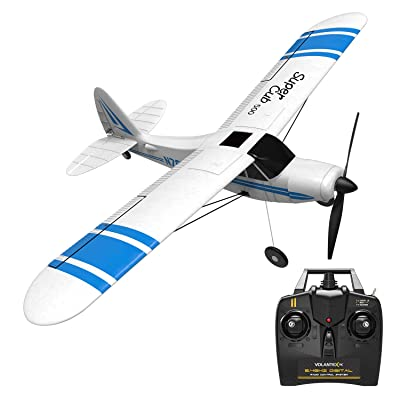 VOLANTEXRC 2.4GHz 3CH RC Airplane Super Cub 500 Remote Control Aircraft Ready to Fly with Xpilot Stabilization System & One Key U-Turn for Beginners (761-3): Toys & Games