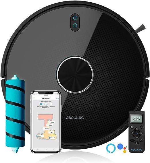 Cecotec Robot Aspirador Conga Serie 4090. 2700 Pa, Gestión y Edición de Habitaciones, App con hasta