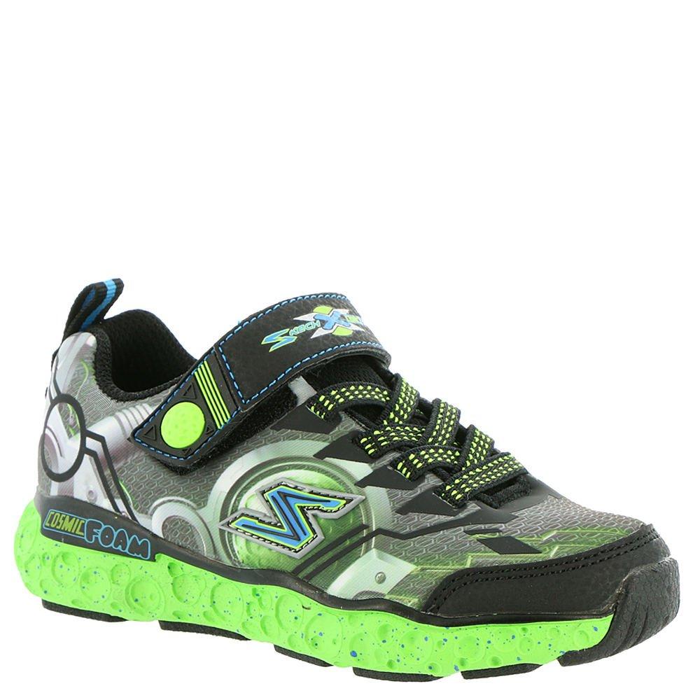 Skechers Kids Boys' Cosmic Foam-Futurist Sneaker,Black/Lime,13 M US Little Kid