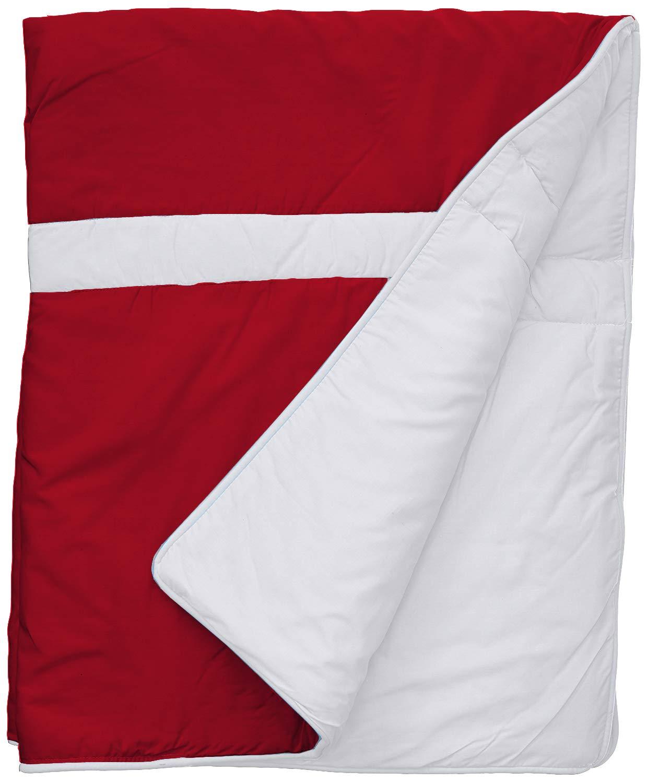 baby BLANKET car crib moses pushchair  BLUE WHITE STARS /& red STRIPES USA flag