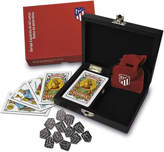 Fournier Oficial del Atlético de Madrid Conjunto de Mus para ...