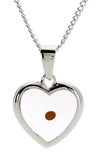Amazon mustard seed heart necklace pendant necklaces jewelry mustard seed heart necklace aloadofball Image collections