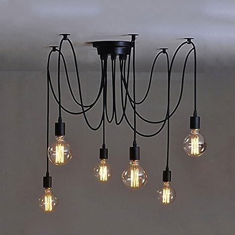 Q-HL Iluminación de Interior lámparas de araña Industrial ...