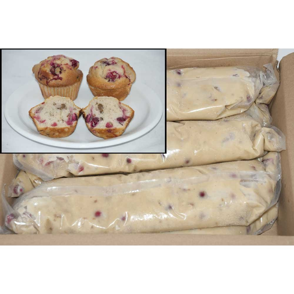 General Mills Pillsbury Tubeset Cranberry Nut Muffin Batter, 3 Pound - 6 per case.