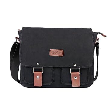 OXA Vintage Canvas Messenger Bag Shoulder Bag ipad Bag Book Bag ...