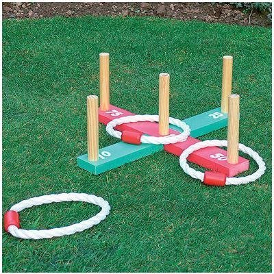 Prepossessing Sports Toys And Outdoor  Amazoncouk With Hot Gardenoutdoor Rope Quoits  Wooden Pegs Throwing Game With Agreeable Garden Offices Also Convent Gardens London In Addition Argos Garden Planters And Hilton Garden Inn Glastonbury Ct As Well As Wyndley Garden Centre Knowle Additionally Lee Garden Road Causeway Bay From Amazoncouk With   Hot Sports Toys And Outdoor  Amazoncouk With Agreeable Gardenoutdoor Rope Quoits  Wooden Pegs Throwing Game And Prepossessing Garden Offices Also Convent Gardens London In Addition Argos Garden Planters From Amazoncouk