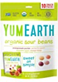 YumEarth Organic Sour Beans, 10 Count (Pack of 12)