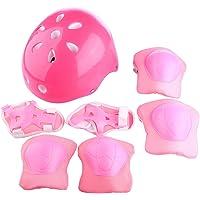 Giplar Sets de Protection 7 Pièces - Sets de Protection Enfant 6-16 Ans pour Patinage/Cyclisme/Scooter/Moto/Vélo