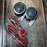 CT Sounds Tropo 20mm Flush Mount Silk Dome Car Audio Tweeter Set - Pair
