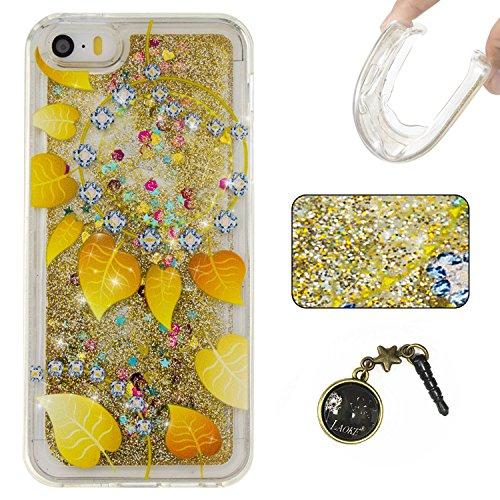 "Laoke Carcasa para iPhone, Funda TPU, flores, Premium, piel sintética, 15, iphone7 plus(5.5"") 14"
