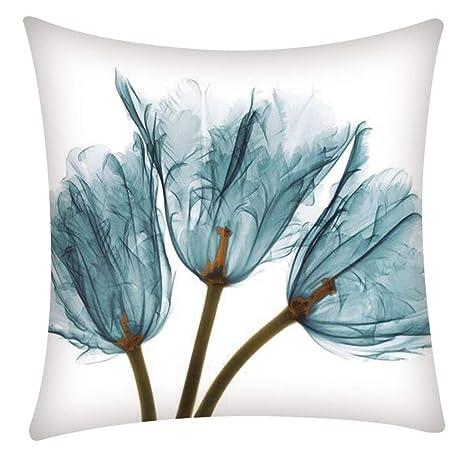 Funda de cojín LANWINY Decorativa para sofá, cojín Lumbar ...
