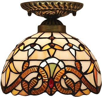 Deckenleuchte 2 flammig Deckenlampe mit Deko Flurlampe Leuchte Lampe aus Glas