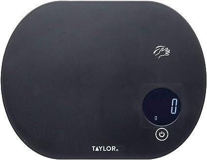 in Confezione Regalo Taylor PRO Bilancia Digitale per Alimenti plastica Design a Doppia Piattaforma