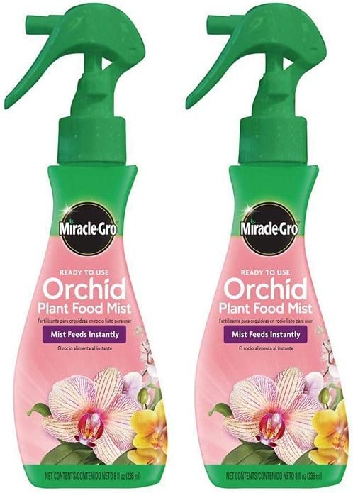 Scotts Miracle-GRO Orchid Plant Food Mist (Orchid Fertilizer), 8 oz. (2 Pack)