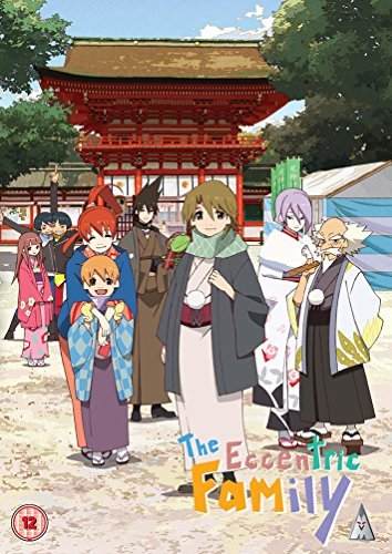 The Eccentric Family Collection - 2-DVD Set ( Uchouten Kazoku ) ( The Eccentric Family (13 Episodes) ) [ NON-USA FORMAT, PAL, Reg.2 Import - United Kingdom ]