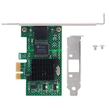 Denash Tarjeta de Red, PCI-E PCI Express Card Tarjetas de ...