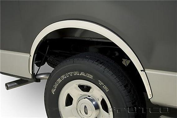 Putco 97206 Stainless Steel Full Fender Trim Kit for Ford Explorer