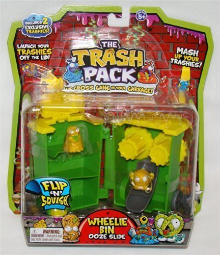 Trash Ooze Pack Slide Toys Bin Wheelie by Moose xrrwqtP