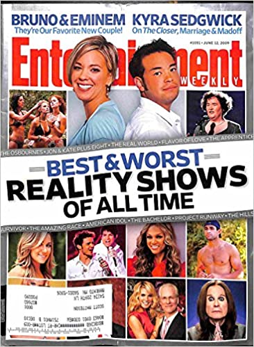 Entertainment Weekly Magazine (June 12, 2009) Best & Worst Reality
