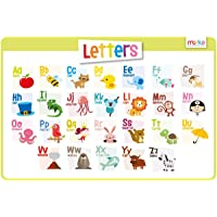 merka Educational Kids Placemat - Non Slip Washable Alphabet ABC